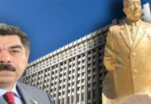 Atasına heykəl qoyduran deputat PA-ya çağrıldı