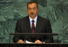 İlham Əliyev BMT tribunasından çağırış etdi: