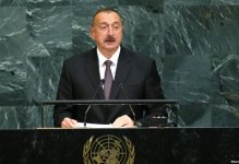 İlham Əliyev BMT-nin baş katibi ilə görüşdü