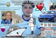 """Mehman Hüseynovdan daha bir araşdırma: """"Korrupsiya xərçəngi"""""""