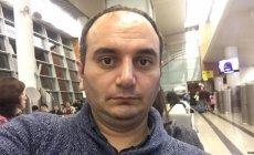 Əziz Orucov kamerada havasızlıqdan yıxılıb