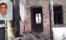 Bakıda yanğın: Zabil Müqabiloğlunun ata evi yandı - VİDEO
