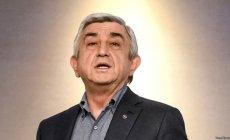 Serj Sarkisyan istefa verdi