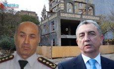 Eldar Əzizov DYP rəisinin tikintisini dayandırdı