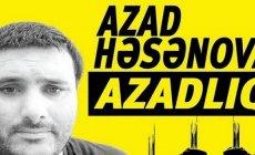 Azad Həsənovun xanımı səfirliklərə müraciət etdi