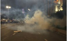 Tbilisidə nümayişçilərə zorakılığa görə polislər işdən azad edilib
