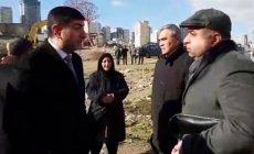 Deputatlığa namizədlə icra başçısı arasında mübahisə (VİDEO)
