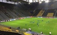 Almaniyanın ən böyük stadionunda koronavirusla mübarizə mərkəzi açılıb