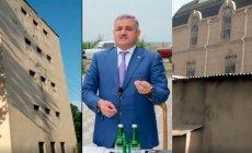 İcra başçısı liseyin pəncərələrini hördürdü: Villasının həyəti göründüyü üçün - VİDEO