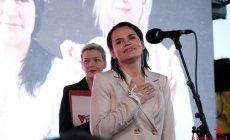 Svetlana Tixanovskaya ölkəni tərk edib