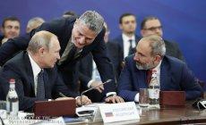 Putin Paşinyanın qərarlarını