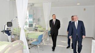 Gəncədə prezidentin yenicə açdığı xəstəxana bağlandı – FOTO