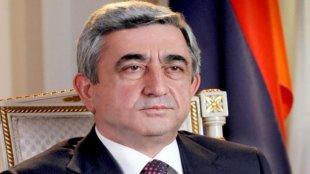 """""""Ermənistanla Azərbaycan Qarabağın taleyini həll edə bilməz"""" - Sarkisyan"""