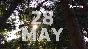 D18 Hərəkatından 28 May aksiyası - VİDEOREPORTAJ