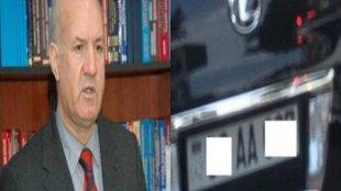 Arif Qaraşova məxsus avtomobil adam vurdu