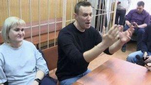 Navalnı yenə saxlanıldı
