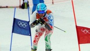 Azərbaycanlı idmançı qış olimpiadasında finişə çata bilməyib