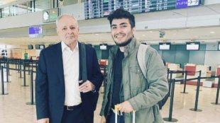 Mehman Hüseynov naziri Avropada