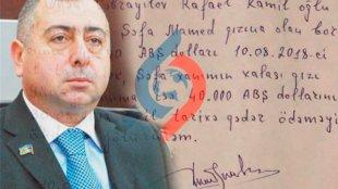 """Deputat vəsiqəsini girov qoydu: """"Deyir, 3 milyon verib deputat olmuşam…"""""""