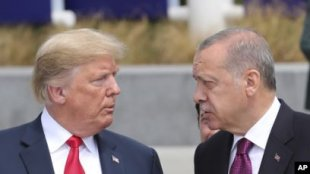 Tramp Türkiyəyə qoyulacaq sanksiyaları açıqlayıb