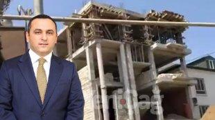 Ramin Bayramlı dəbdəbəli villa tikdirir - VİDEO