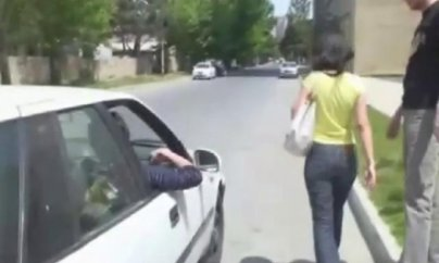 """Sataşma:""""Necəsən, ceyran?""""   - VİDEO"""