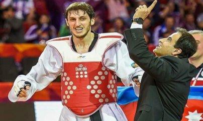 Taekvandoçumuz Olimpiya çempionu oldu - İlk qızıl medal