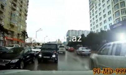 """Bu dəfə """"Galenvagen""""lə """"protiv"""" getdilər –  VİDEO"""
