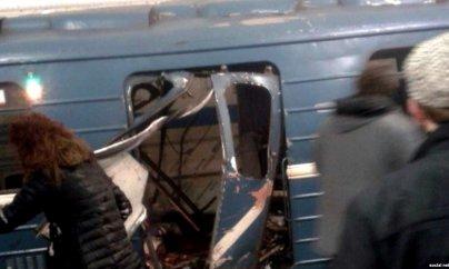 Sankt-Peterburq metrosundakı partlayış: azı 10 nəfər öldü