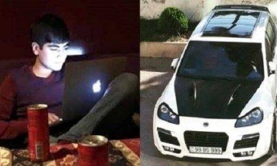 """""""Porsche"""" qəzasında"""