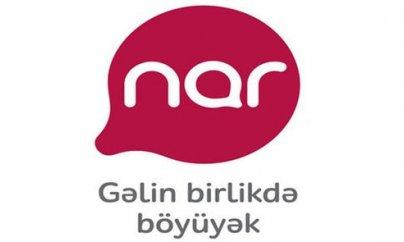 """""""Nar""""  """"Rabitə""""yə dəstək verir"""