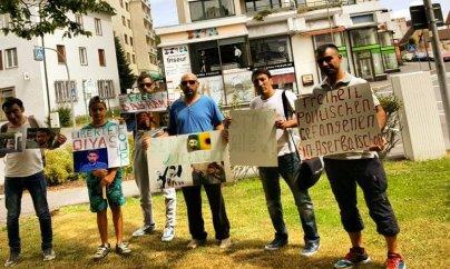 Almaniyada daha bir aksiyadan Azərbaycana çağırış - FOTO