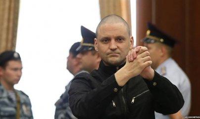 Rusiyalı müxalifətçi Sergey Udaltsov azadlığa çıxdı