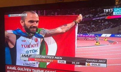 Azərbaycanlı atlet dünya çempionu oldu
