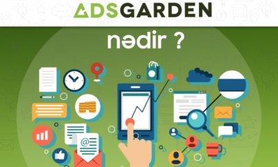 İnternet reklamında yeni mərhələ - AdsGarden
