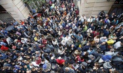 Kataloniyada 844 nəfər yaralanıb