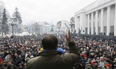 Saakaşvili yeni yürüş təyin edir
