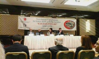Elman Fəttah Türkiyədə Qarabağla bağlı konfransda çıxış etdi - FOTOLAR