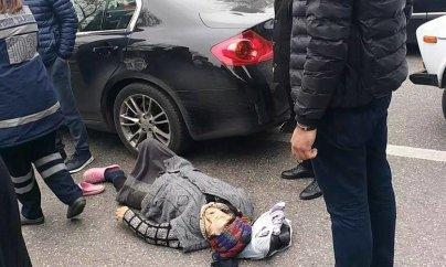 Avtomobil vuran qadının 82 yaşı olduğu bildirilir