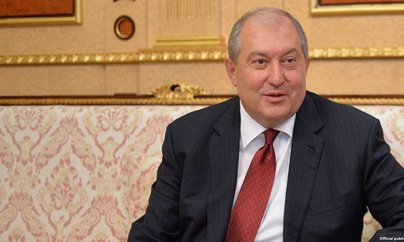 Ermənistanın yeni prezidenti maaşından imtina edib