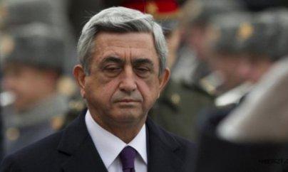 Serj Sarkisyan baş nazir oldu