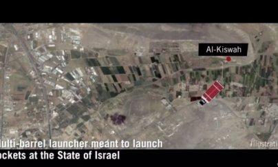 İsrail Suriyadakı İran hədəflərini vurur