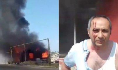 Qarabağ əlili icra başçısına etiraz edərək evini yandırdı
