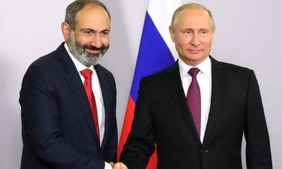 Putin Ermənistanın yeni baş naziri ilə görüşüb