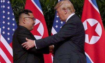 ABŞ və Şimali Koreya rəhbərlərinin görüşü baş tutdu