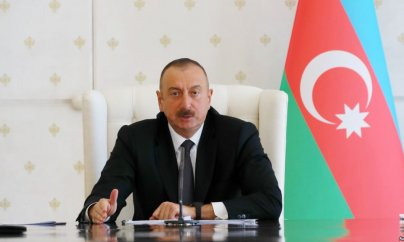 İlham Əliyev Sumqayıta getdi