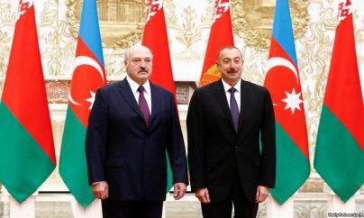 Azərbaycan və Belarus prezidentləri görüşüblər