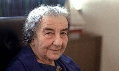 İsrailin ilk və tək qadın Baş naziri Qolda Meir