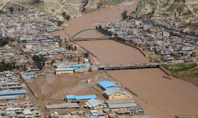 Daşqına görə İranda daha bir neçə yaşayış məntəqəsi köçürülür