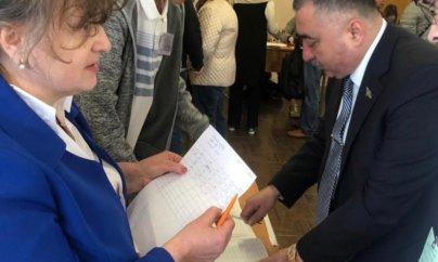 Rüfət Quliyev Ukrayna seçkilərində necə səs verib?